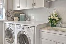 Laundry Room / Laundry room inspiration, DIY, and tips & tricks to make laundry day a little easier.