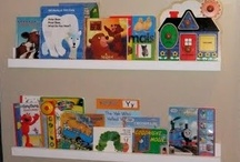Book shelves for children's rooms / by Sarah S.R.