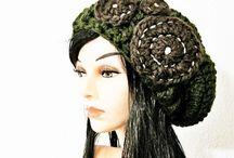 My Portfolio: Crocheted Hats / Available at http://www.kanokwalee.etsy.com