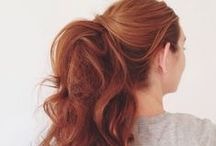 {hairstyle} / by Camila Patricio