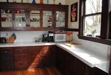 Early 1900s Kitchens / This is a board of original or nearly original kitchens from the early 1900s. I've tried to exclude modern builds and remodels, but sometimes it's hard to tell. (See the remodeled kitchen board for modern builds.) / by Craftsman Junky