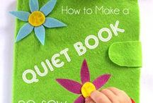Quiet Book Ideas / by Lynn Rupert