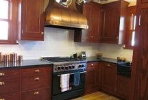 Remodeled Kitchens / These are modern built and remodeled kitchens designed to blend with an historic house interior. / by Craftsman Junky