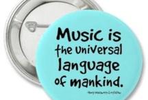 Music around the World / I love music -- ALL music! / by Becky Medina