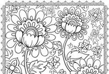 mandala, coloring pages etc. / by Coleen Dahleke