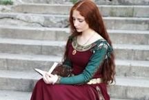 medieval dress inspiration / by Coleen Dahleke