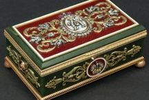 FABERGE BOXES / by Marilynn Mc Laughlin