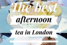 Afternoon tea in London / London is full of afternoon teas, from themed to fancy to family friendly. This board will show you where to go and give you tips on how to experience the best afternoon tea in London.