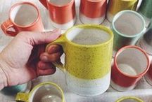 CRAFT // Dishin' it up / beautiful handmade ceramics + well-designed manufactured dishes + a few DIY designs / by Calee [ life+running / chimesdesign ]