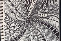 Zentangle Fun / by Liz Durian-Watson
