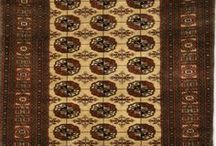 Turkman Rugs / The various qualities of rugs knotted or inspired by Turkman weavers.