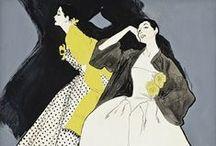 fashion illustration / by Pamela Farmer