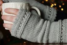 Knitted Mittens, Gloves, Cuffs