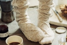 Knitted Slippers, Socks, Baby Booties