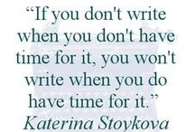 Writing Quotes, Both Funny and Serious / Love quotes on writing and the writer's life? Enjoy.  / by Angela Booth
