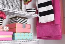Organization Ideas for the Home / Organize every space of your home including closets, drawers, offices, bedrooms, garages and more with these clever ideas, solutions and tutorials.