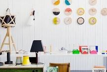 OFFICIAL STUDIOS @ hOME / Home office decoration ideas  / by Aslihan Kaya