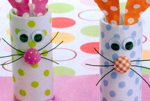 Kid's Crafts with TP rolls / by Nancy Graham