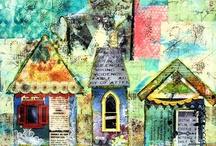 Mixed Media inspiration / by Karen Bumstead