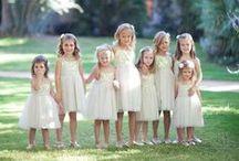 Wedding day - Flower girl & page boy