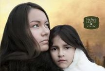 Glimpses into the book, The Journey of Eleven Moons / Story of a young Aleut woman, Anna, and her sister Iya's search for a new home in 1870's Alaska Territory.