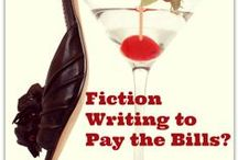 Yes, I'm making this up -- writing fiction / Want to write fiction? You can sell short stories and novels on Amazon's Kindle platform. For the first time in decades, writing fiction pays. Join me in my fiction journey. More at: http://www.justwriteabook.com/blog/ / by Angela Booth