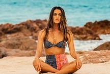 S U M M E R 2015 S W I M / It's that time of year, for a sunkissed glow, cheeky bikinis and neoprene surfable suits. Take a look at SWELL's favorite swimwear for Summer 2015. / by SWELL