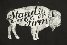pulled / Block Rocking Screen Prints - Inspiration for my dream T-shirt shop