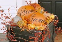 Home Decor/Autumn / Autumn theme decorating / by Sharon Sellers