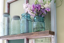 Old Window Ideas / by Sharon Sellers