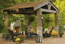 Outdoor living / Ideas for the outdoors! / by Judy Richardson