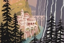 ART - Posters: Travel  / National Parks, Countries, and all other Vintage Travel Poster styles / by Rua Lupa