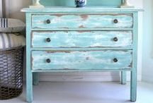 FURNITURE PAINTING_CRAFTS / by LadeeTee's Treasures