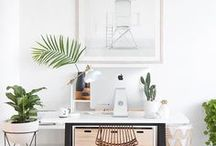Office Style / Inspiration for my home office.