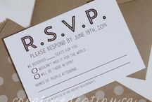 Wedding - Invites / Paper / by Jackie Krall