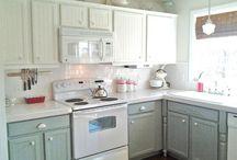 kitchen / by Ann (Vintage River Ranch)