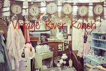Vintage River Ranch Items / More vintage finds that we plan to have at our booth for sale ;)