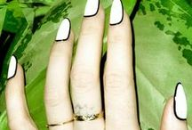 Nifty Nail Numbers / by Aya-Marie Hewlett