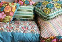 sew what / {pillows - purses - curtains - tea towels - plushies}