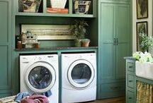 a room to launder in