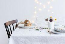 Decoración. Mesas navideñas
