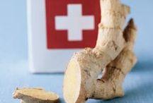 flourishing: first aid / Natural remedies for cuts, burns, bites, stings, bruises, rashes, splinters, etc.