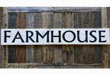 farmhouse / by Christine Butler