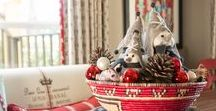 decorate for Christmas / Follow BSEID as we turn our interior decor clients' homes into Winter Wonderlands.