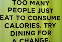 Food quotes / Inspiring food quotes