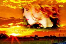 Denim & Diamonds / Inspiration for my first novel, Denim & Diamonds. Contemporary western romance. Books. Reading.