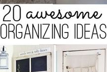 We Love to Organize! / by Melissa McGarity