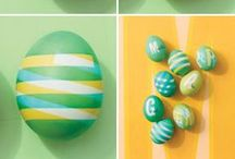 Seasonal Kids - Easter Ideas / Easter with kids - ideas for crafts, decorating and Easter-themed play and learning.