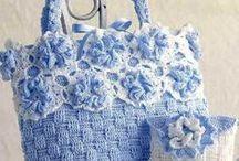 My Style in crochet / Crochê, Tricô, Arte com tecido, bordado