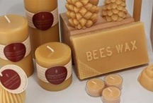 Beautiful Beeswax Candles